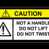 Extruder cable warning 2